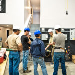 electrician teaching students